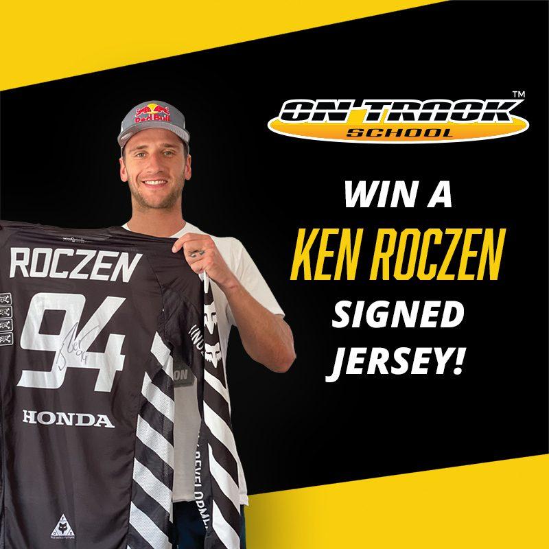 Ken Roczen Signed Jersey